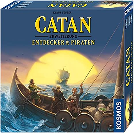 Kosmos Catan – Extension Entdecker & Piraten (version en allemand)