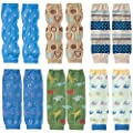 KF Baby 6pc Soft Thin Summer Knee Pads Socks Sleeve Leg Warmers Gift Value Pack from kilofly
