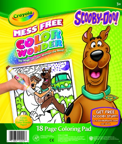 Crayola Color Wonder Scooby Doo - Styles May Vary - 1