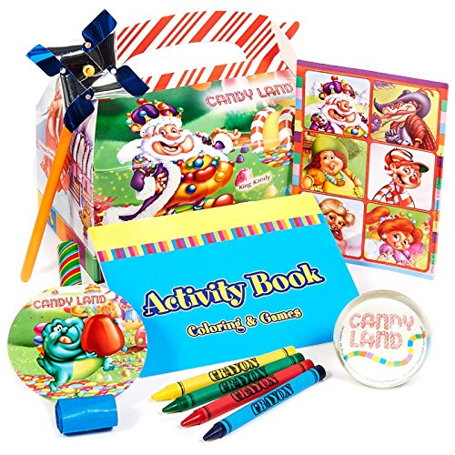 CandyLand Filled Party Favor Box