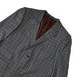 GUCCI/グッチ メンズ スーツ モダンチェック グレー 48R 日本サイズS相当 [並行輸入品]