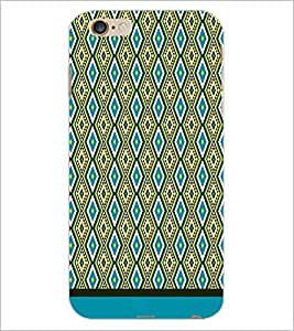 PrintDhaba Diamond Pattern D-1751 Back Case Cover for APPLE IPHONE 6 PLUS (Multi-Coloured)