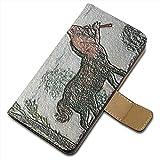 Franz Von Stuck - Spring 3, Texture Portafoglio Magnetico Flip Custodia Protectiva in Pelle Wallet Case Cover...