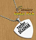 Theory of a Deadman Chain / Necklace Bass Guitar Pick Both Sides Printed
