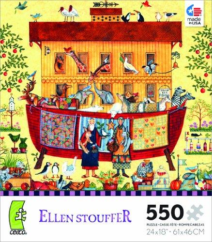 Ellen Stouffer Noah's Ark Jigsaw Puzzle