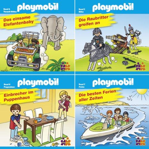 Mini-Bücher Playmobil 5-8 (4er-Set)