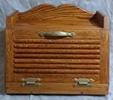 Oak Bread Box (Dark)