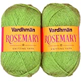 Vardhman Acrylic & Nylon Rosemary Green (200 Gm) Pack Of 2 (200 Gm)