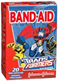"**PACK OF 6** Band-Aid ""Transformer"" Adhesive Bandages - 20 Assorted Sizes"