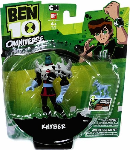 Ben 10 Omniverse Khyber Action Figure, 3 Inches