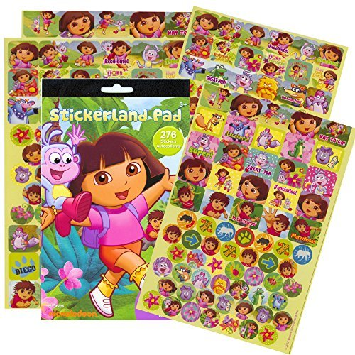 Dora the Explorer Reward Stickers - 276 Stickers! - 1