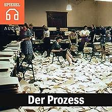 Der Prozess Hörbuch von  DER SPIEGEL Gesprochen von:  Deutsche Blindenstudienanstalt