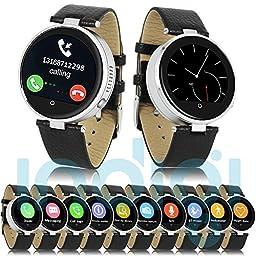 Indigi® Wrist Smart Watch Bluetooth 4.0 SIRI 3.0 Heart Rate Monitor Pedometer Music Remote Capture Notification Push ~2016 HOT~