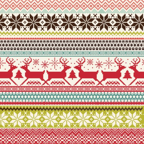 Christmas sweater print