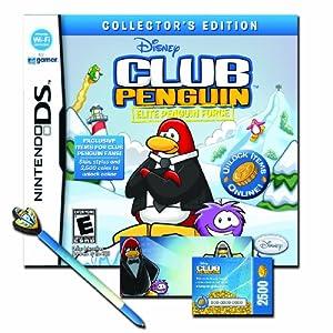 Club Penguin: Elite Penguin Force Collector's Edition Bundle - Nintendo DS