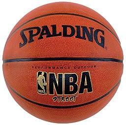 Spalding NBA Street Basketball - Official Size 7 (29.5\