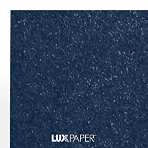 LUXPaper 8.5 x 11 Paper for Crafts and Printing in Lapis Metallic - Stardream, Scrapbook and Office Supplies, 50 Pack (Blue) (Color: Lapis Metallic - Stardream?, Tamaño: 50 Qty.)