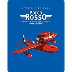 Porco Rosso (Limited Edition Steelbook) [Blu-ray]