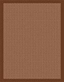 5'x8' Indoor Outdoor Area Rug Beige Brown (5'2