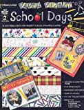 Hot Off The Press 8.5 x 11Papers SCHOOL DAYS For Scrapbooking, Card Making & Craft Projects