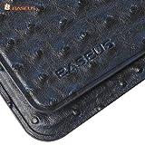 galaxy tab 7.7ケース samsung galaxy tab 7.7case+タッチペン進呈 全2色 BASEUS 正規品 Ostrich Series docomo Plus SC-01E  オストリッチ型 Galaxy Tab 7.7  GT-P6800/P6810 専用 PUレザー サムスン ギャラクシータブケース PU Leather Case For Galaxy (Navy)