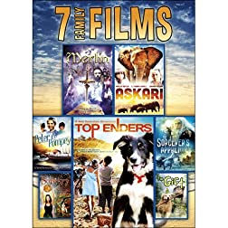 7-Film Family Pack: Merlin The Return / The Sorcerer's Apprentice / Teen Sorcery / Askari / Top Enders / Peter and Pompey / The Gift