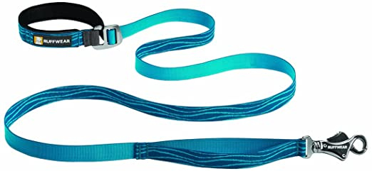 Ruffwear Flat Out Leash for Pets, Pacific Wave