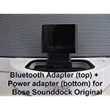 BMR A2DP Bluetooth Music Receiver + Power Adapter for Bose SoundDock I, Portable & Wave