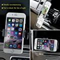 Car Phone Mount, Levin Universal Air Vent cellphone Mount Holder with 360 Degree Rotate for iPhone,Samsung, Google Phone, LG, HTC and GPS Device by Levin