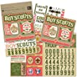 K&Company Boy Scouts Scrapbook Kit Flip Pack