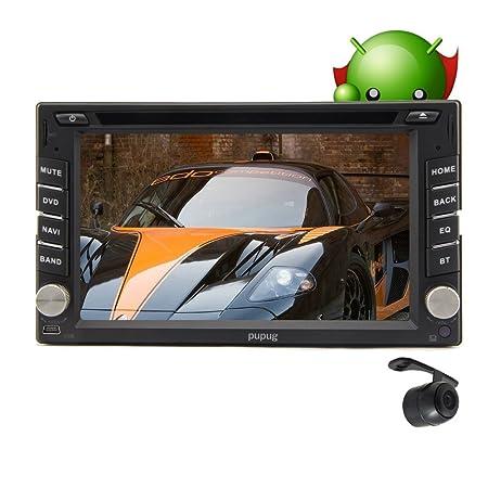 Android 4.2 OS GPS Navigator 6.2 pouces š€ double 2 Din Autoradio lecteur DVD 3D carte WIFI Internet Bluetooth TV HD + CamšŠra de recul