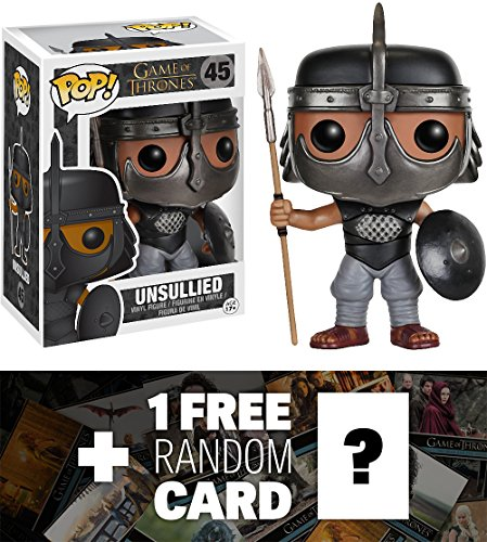 Unsullied: Funko POP! x Game of Thrones Vinyl Figure + 1 FREE Official Game of Thrones Trading Card Bundle [50818]