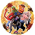 "Anagram International Muppets Foil Package Balloon, 18"", NA"