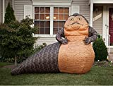 HALLOWEEN AIRBLOWN INFLATABLE STAR WARS 10' JABBA THE HUTT FROM RETURN OF THE JEDI YARD PROP DECORATION