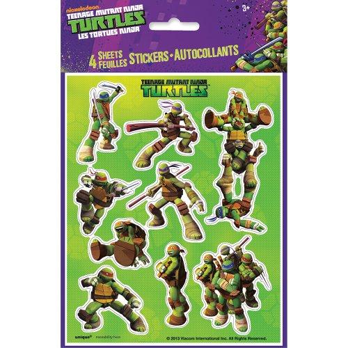 Teenage Mutant Ninja Turtles Sticker Sheets, 4ct