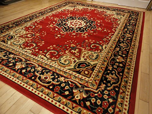 large persian red rugs 5x8 rugs for living room red. Black Bedroom Furniture Sets. Home Design Ideas