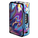 Skin Decal Vinyl Wrap for VooPoo Drag 157W TC Vape stickers skins cover/Opalescent Resin marble oil Slick