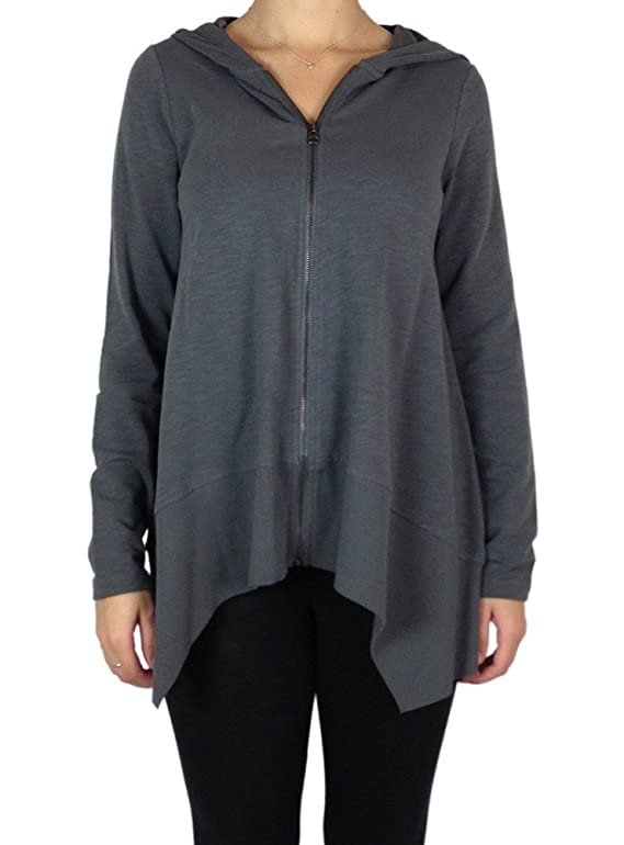Lilla P Flame French Terry Long Sleeve Swing Hoodie