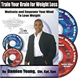 Train Your Brain for Weight Loss - 2 Self Hypnosis CD's for Weight Loss Empowerment and Exercise Motivation (Train Your Brain for Weight Loss, 1) ~ Damien Young