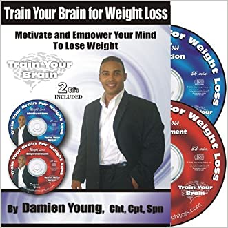 Train Your Brain for Weight Loss - 2 Self Hypnosis CD's for Weight Loss Empowerment and Exercise Motivation (Train Your Brain for Weight Loss, 1)