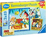 Ravensburger Jake and The Never Land Pirates Puzzles (3 x 49 Pieces)