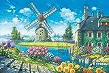 1000ピース 風車と花のオーベルジュ 1000-606