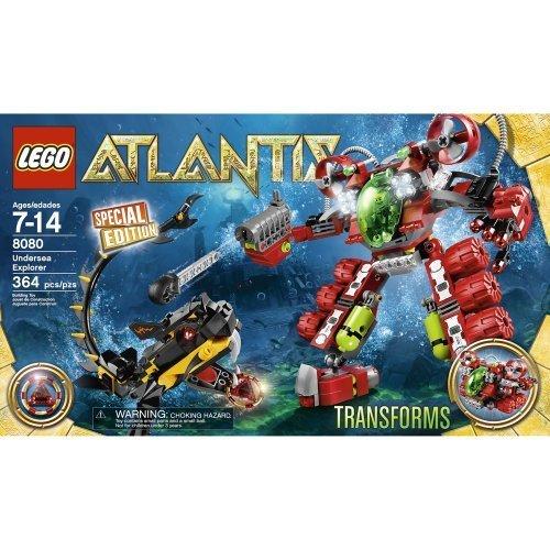 LEGO 8080 Atlantis Unterwasser-Roboter als Geschenk