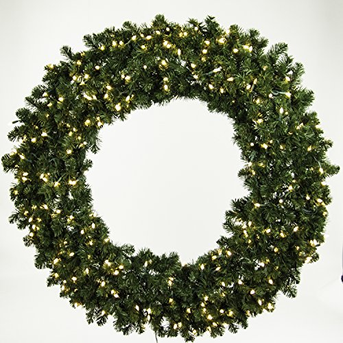 Best Large Pre Lit Christmas Wreaths for the Holidays