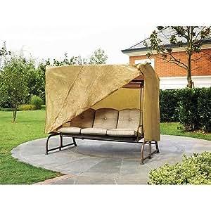 87 in w x64 in d x66 in h patio swing cover patio lawn garden