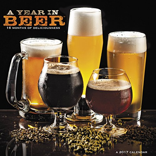A Year in Beer TM Wall Calendar (2017)