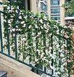 Knstlich-Rose-Blatt-Efeu-Girlande-Blumen-Dekoration-Dunkel-Lila