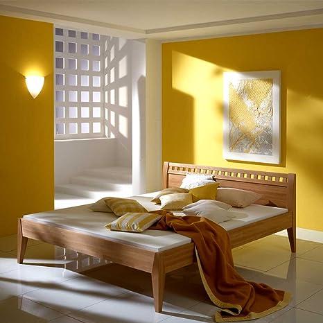 Bett aus Buche Massivholz geölt Breite 188 cm Liegefläche 180x200 Pharao24