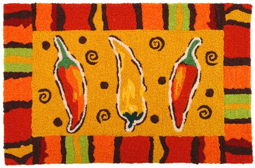 Jellybean Fiesta Chilis Accent Area Rug