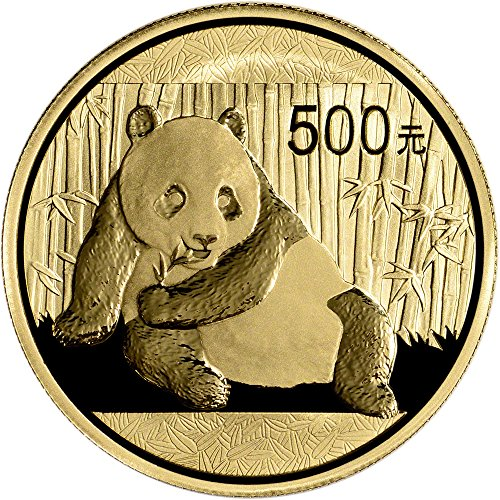 2015 CN China Gold Panda (1 oz) 500 Yn BU China Mint
